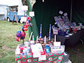 Christmas table at Driffield dog show