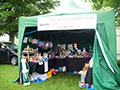The stall at Driffield