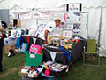The stall at Hull Veterans weekend