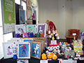 The stall at Yorkshire Bank