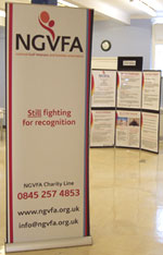 The NGVFA at an information event in Scotland
