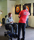 2016 Respite - Darts with Eric Bristow